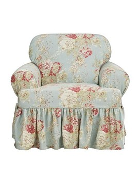 Ballad Bouquet T Chair Slipcover   Sure Fit by Shop This Collection