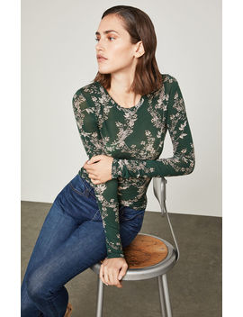 Floral Blooms Top by Bcbgmaxazria