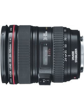 Ef 24 105mm F/4 L Is Usm Standard Zoom Lens   Black by Canon