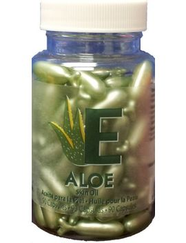 Aloe  Skin Oil Capsules By Easy Comforts 90 Capsules Amazing Shine Nails New by Ebay Seller
