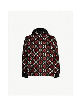 Gg Motif Wool Coat by Gucci
