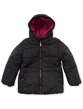 Puffa Zip Puffer Coat by Puffa