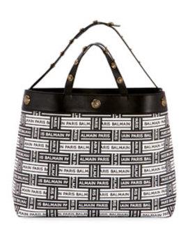 Logo Shopping Tote Bag by Balmain