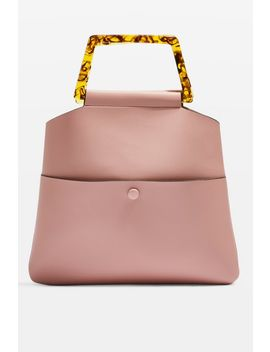 Claire Tortoiseshell Clutch Bag by Topshop
