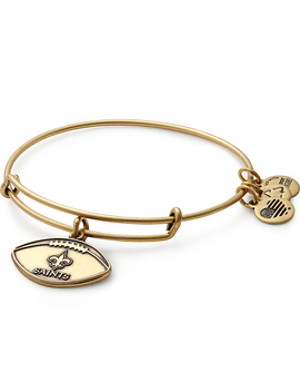 New Orleans Saints Football Charm Bangle by Alex And Ani