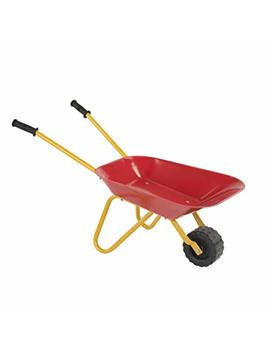 Little Workers Wheelbarrow By Pla Smart   Ride On Toy, Age 3 Yrs And Up, Construction Toys That Get Jobs Done In The Sandbox, Beach, Dirt Or Snow by Amazon