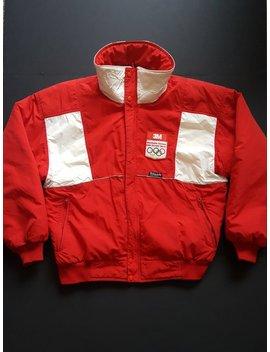 Vintage Olympic Insulated Parka Jacket    Vintage Unisex Parka Jacket by Etsy