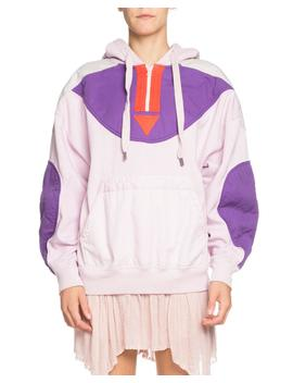 Nansel Quilted Pullover Quarter Zip Hoodie by Etoile Isabel Marant
