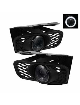 Ford F150 99 03 / Ford Expedition 99 02 Halo Projector Fog Lights   Smoke by Spyder Auto