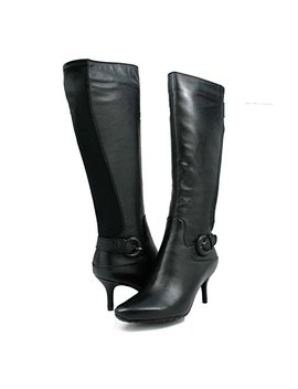 "Sole Mani Women's Rochelle 13"" Slim Calf Women Leather Dress Boots by Sole Mani"