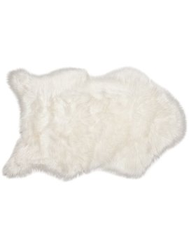 Chanasya Faux Sheepskin White Area Rug & Reviews by Chanasya