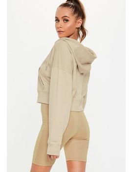 Active Sand Msgd Hooded Sweatshirt by Missguided