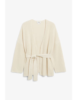 Chunky Wrap Top by Monki