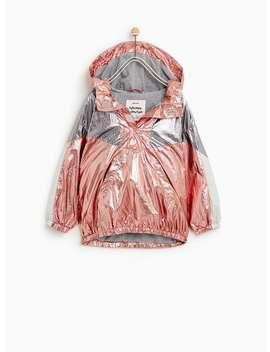 Metallic Jacket  Topsgirl by Zara