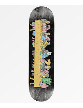 "Ripndip Last Meal 8.5"" Black Skateboard Deck by Ripndip"