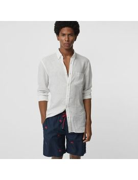 Archive Logo Drawcord Swim Shorts by Burberry