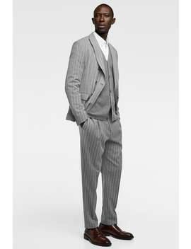 Striped Suit  View All Suits Man Sale by Zara