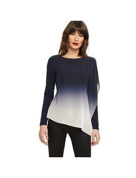 Phase Eight   Blue Ombre Camille Top by Phase Eight