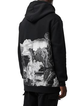 Dreamscape Print Hooded Sweatshirt by Burberry