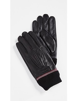Dockers Leather Gloves by Ted Baker