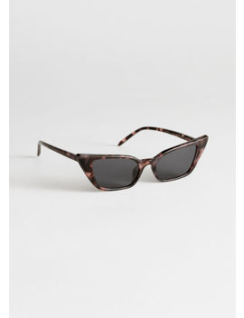 Slim Cat Eye Sunglasses by & Other Stories