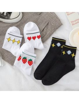 Pouffle   Printed Socks (Various Designs) by Pouffle