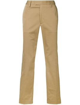 Straight Slim Chino Trousers by Acne Studios