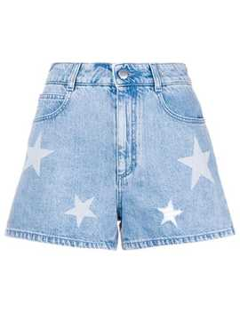 Denim Star Shorts by Stella Mc Cartney