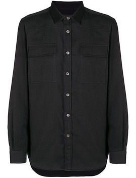 Long Sleeve Fitted Shirt by Ann Demeulemeester
