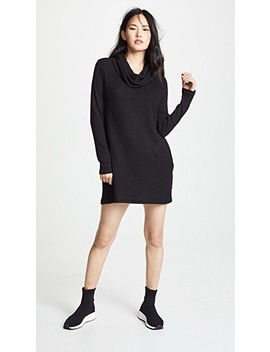 Brushed Rib Cowl Dress by Z Supply