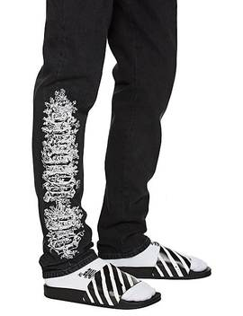 gothic-embroidered-slim-straight-jeans by off-white-c_o-virgil-abloh