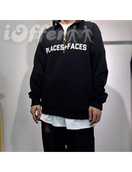 18 Fw Places+Faces P+F Half Zip Sweatshirt Jacket by I Offer
