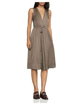 Katia Drawstring Satin Dress by Bcbgmaxazria