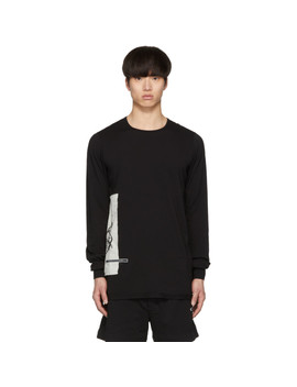 Black Level Long Sleeve T Shirt by Rick Owens Drkshdw