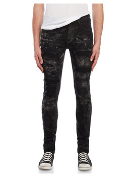 Black Distressed Jeans by Faith Connexion
