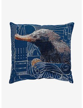 Fantastic Beasts And Where To Find Them Niffler Tapestry Pillow by Hot Topic
