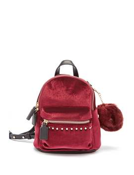 Mini Velvet Backpack by Forever 21