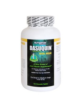 Nutramax Dasuquin With Msm Joint Health Small And Medium Dog Supplement, 150 Chewable Tablets by Nutramax