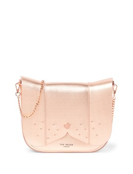 Barkley Dog Leather Crossbody Bag by Ted Baker London