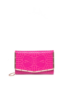 Cut Out Bow Clutch by Ted Baker London