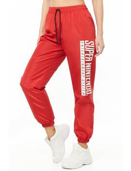 Super Nintendo Wind Pants by Forever 21