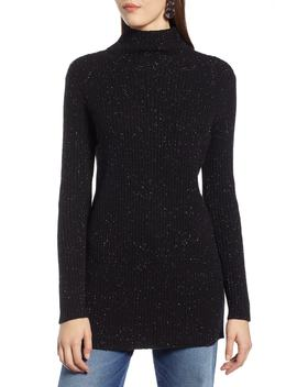 Funnel Neck Ribbed Tunic by Halogen®