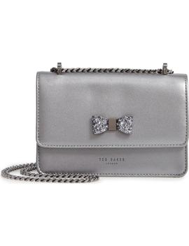 Lotiiee Bow Convertible Leather Bag by Ted Baker London