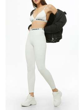 romance-graphic-leggings by forever-21
