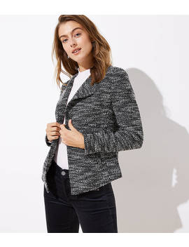 Boucle Open Jacket by Loft