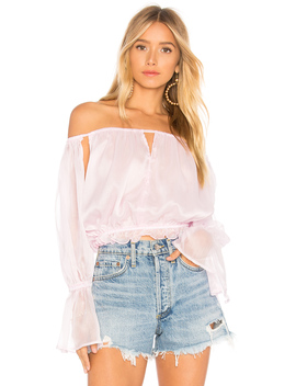 Richie Off Shoulder Top by Lioness