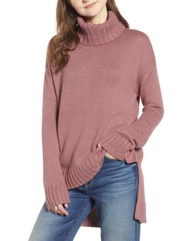 High/Low Turtleneck Sweater by Halogen®