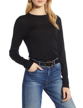 Merino Wool Blend Sweater by Halogen®