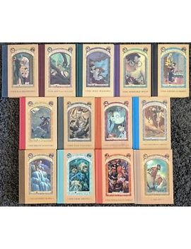 Lemony Snicket A Series Of Unfortunate Events Complete Hardcover 13 Book Lot by Ebay Seller