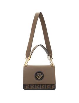 Brown 'forever Fendi' 'kan I' Bag by Fendi